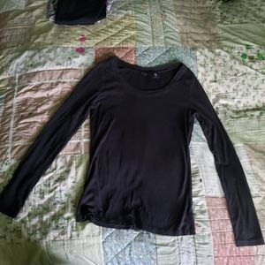 Willi Smith Woman's black cotton top